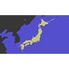 Japan map 001 (stock movie HD material)