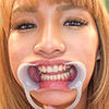 [Dental fetish] natural black gal Futaba yukina-CHAN for I observe in your mouth! [Futaba talk.]