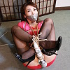Ayaka Ichikawa - A Hostess Lady Bound and Gagged - Chapter 6 Tapegagged