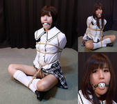 SF4 Japanese Schoolgirl Saya Captured and Bound Part4