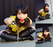 HK9 Japanese Race Queen Hiroko Bound and Gagged Part4