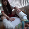 KKK-043-04 JK GAL friends dirty shoes from a thorough site blamed bullying!! ︎