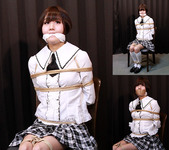 SF1 Japanese Schoolgirl Saya Captured and Bound Part1